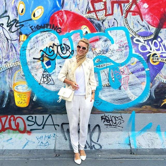 east side gallery travelblogger fashion meets art