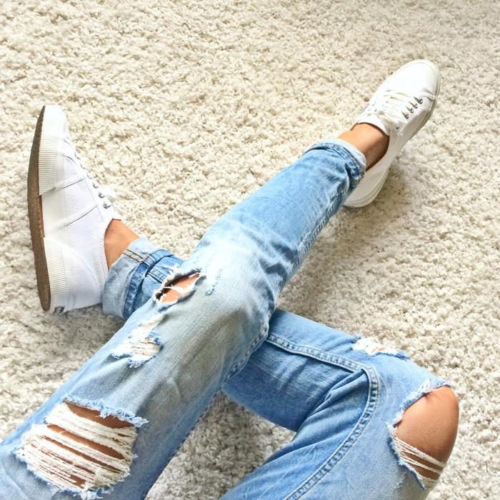 Top Destroyed Jeans selber machen in 4 Schritten &YV_27