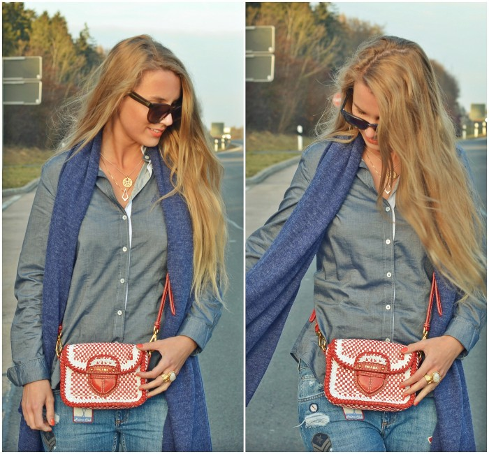 outfit: all denim!