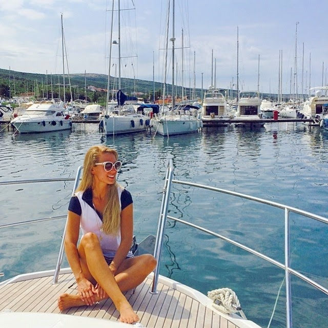 travel: first impressions of our boat trip in Croatia